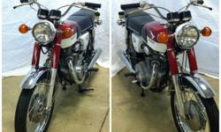 1968 Honda CB 350 Vintage | Red/White