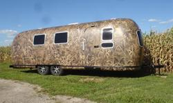 1969 27 Foot Camo Airstream Diner~Vending~