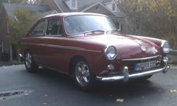 1969 VW Type 3 Fastback Restored & Rare