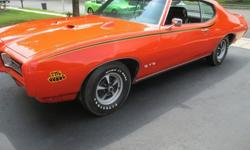 1969Pontiac GTO THE JUDGE