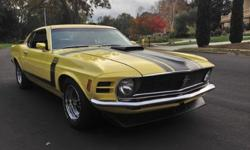 1970 Ford Mustang BOSS 302 Muscle Car