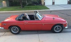 1971 Classic Convertible MGB