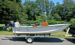 1972 Boston Whaler Nauset Evinrude 60HP Center Console