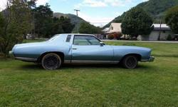 1973 Chevrolet Monte Carlo 5 speed Manual