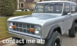1973 Ford Bronco SPORT 4X4