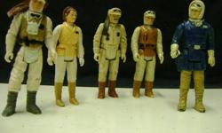 1977-1983 Star Wars figures