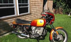 1977 BMW R100S Motorcycle Unrestored Original