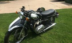 1977 Triumph Bonneville 750 ..w/sidecar - Beautifully