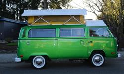 1978 VW Bus ~~ Volkswagen Restored Riviera Westfaila