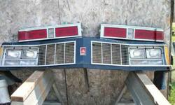 1979 Olds Delta 88 Grill and rear tail lights Norfolk,