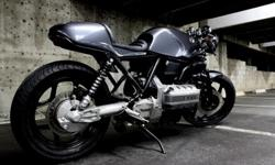 1984 BMW Ks-100 Gray Custom Cafe Racer Motorcycle