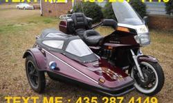 1984 HONDA goldwing with a sidecar