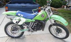 1987 KX125 new top end!!! lots of new parts