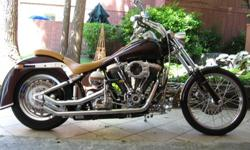 1988 Harley Davidson FXSTC Softail One-Of-A-Kind