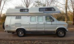 1991 Airstream B190 Fully Self Contained Class B Motorhome