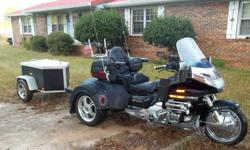 1993 HONDA goldwing TRIKE & TRAILER