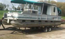 1994 Tracker Tracker Party Hut pontoon boat