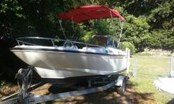1995 Boston Whaler 17 Dauntless DC