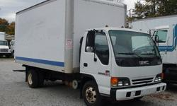 1996 GMC W4, Diesel, Automatic with 15' box