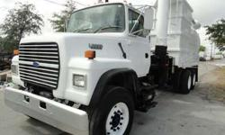 1997 Ford L8000 Guzzler Industrial Loader Vacuum Truck