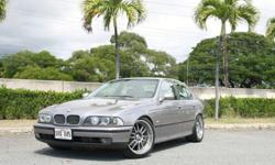 "1998 BMW 528i e39 w/ O.Z. Racing Superleggera III 19"" Wheels"