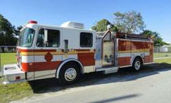 1998 Spartan Custom Rescue Pumper