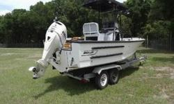 1999 Boston Whaler Justice 21' Commerical Hull