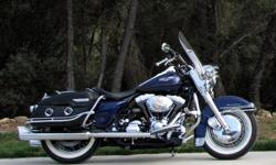 1999 Harley Davidson Touring Road King Classic Blue Nice