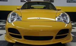 1999 Speed Yellow Porsche 911