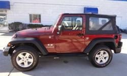 $19,888 Used 2008 Jeep Wrangler X 4x4 Coupe, 46,000 miles