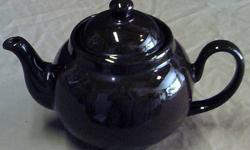 $19 Ceracraft Brown Teapot
