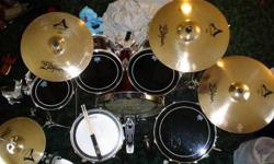 $1,000 Awesome Tama Drumset