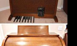 $1,000 Late 1970s Story & Clark Symphonic Organ, Bench &