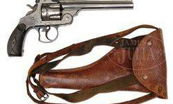 $1,000 Smith & Wesson Da Frontier Revolver W/ Holster.