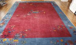 $1,000 Vintage 1920's Chinese Deco Rug