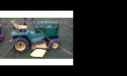 $1,100 1986 John Deere 316 Mower/Riding