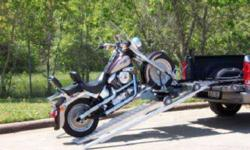 $1,100 Cruiser Ramp Pickup Motorcycle Loader