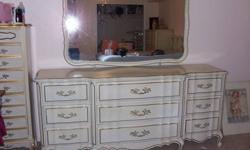 $1,100 French Provincial Bedroom Set
