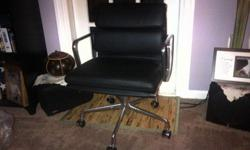 $1,100 OBO Herman Miller Eames Soft Pad Management Chair