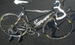 $1,195 2007 Felt F4 carbon road bike - 54cm