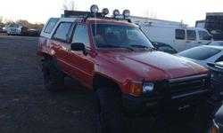 $1 1984 toyota 4runner,parting out,parts only,partes