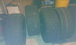 $1,200 Kmc 22 inch wheels with tires