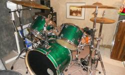 $1,200 OBO Premier 5pc drum set