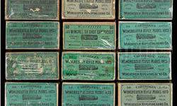 $1,250 Lot of Six Boxes of Winchester Model 1873 44 Wcf