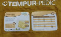$1,250 Tempur Pedic delux queen set