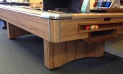 $1,295 9' Majestic Pool Table by Royal Wood Products