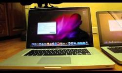 $1,299 MacBook Pro Unibody 15 inch Core i5 2010