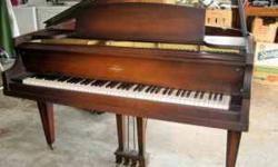 $1,450 Estey Baby Grand Piano with Matching Bench- Nice!