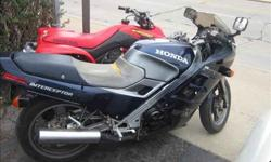 $1,495 Used 1987 Honda Interceptor for sale.