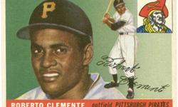 $1,500 1955 Topps #164 Roberto Clemente Rookie Card